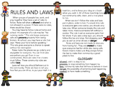 Rules and Laws Lesson
