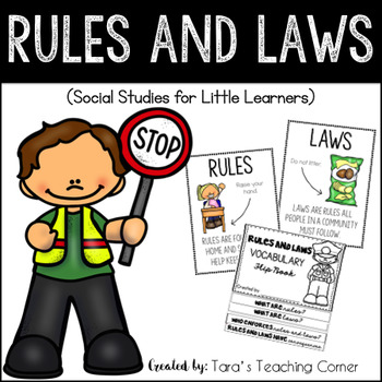 Rules and Laws (Social Studies for Little Learners)