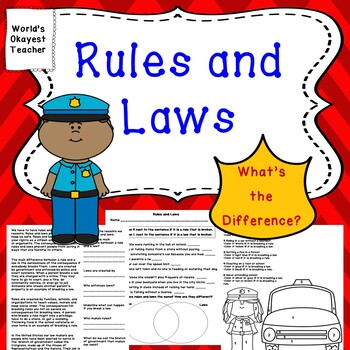 Rules and Laws: What's the Difference?