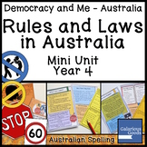 Rules and Laws in Australia (Year 4 HASS)