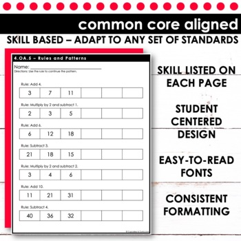 Rules and Patterns | Fourth Grade Math 4.OA.5