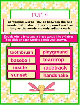 Rules and Practice of Syllabication