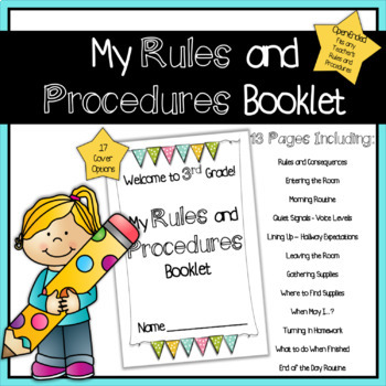 Rules and Procedures Booklet