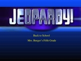 Rules and Procedures Jeopardy