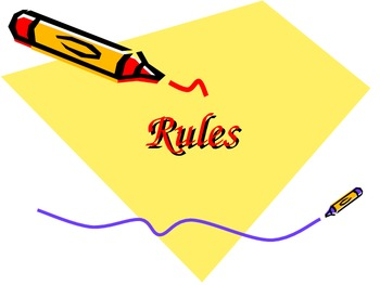 Classroom Rules and Procedures PowerPoint