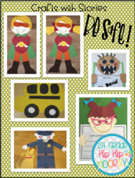 Rules and Safety Bundle ...Literacy Activities snd Crafts!