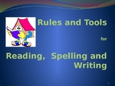 Rules and Tools for Reading, Spelling, and Writing