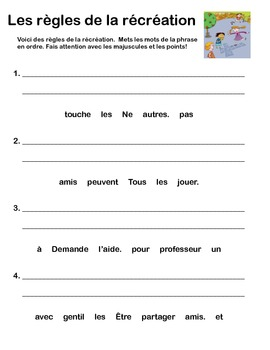 rules and responsibilities student workbook grade 1 french immersion. Black Bedroom Furniture Sets. Home Design Ideas