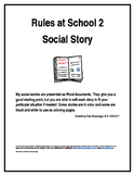 Rules at School 2 Social Story