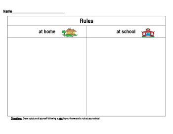 Rules at home and at school