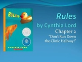 Rules, by Cynthia Lord - Chapter 2, Context Clues, and Setting