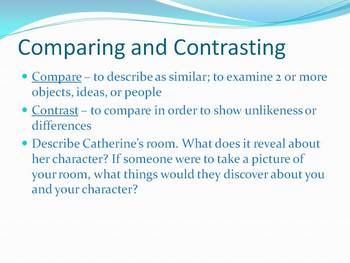 Rules, by Cynthia Lord - Chapters 3-5, Character, Compare/Contrast, & Writing