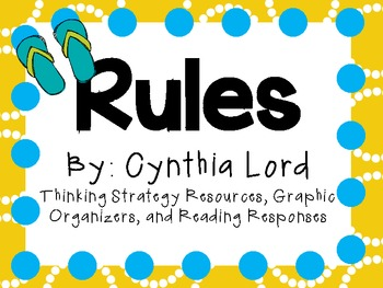 Rules by Cynthia Lord: Character, Plot, Setting