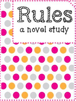 Rules by Cynthia Lord Novel Study