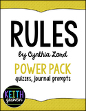 Rules by Cynthia Lord Power Pack:  22 Journal Prompts and