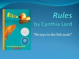 Rules, by Cynthia Lord - Pre-Reading, Discussing Autism, a