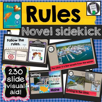 Rules by Cynthia Lord Visual Companion Power Point