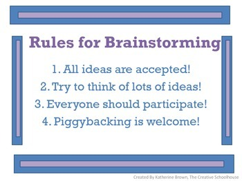 Rules for Brainstorming