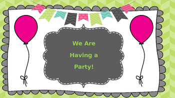 Rules for Class Party Powerpoint or Posters