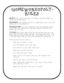 Rules for Homeworkopoly