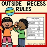 Playground Rules   Playground Social Story   Recess Rules