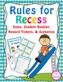 Recess Rules {Pre-K, Kindergarten, 1st}