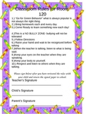 Rules for Room 120 (editable)