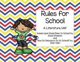 Rules for School Literature Unit