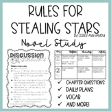 Rules for Stealing Stars by Corey Ann Haydu Novel Study