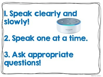 Rules for Using Alexa in the Classroom