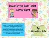 Rules for the iPad/Tablet Anchor Chart