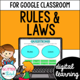 Rules & laws for Google Classroom DIGITAL