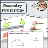 Rules of Angles Geometry Powerpoint & PDF Supplementary Co