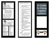 Rules of Capital Letters / Capitalization in a Brochure  Student Brochure