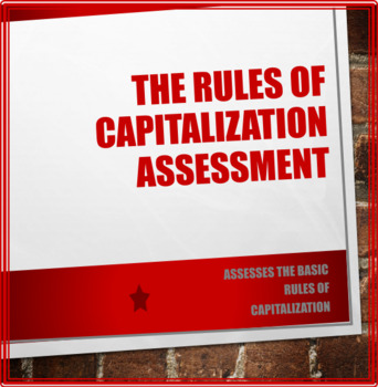 Rules of Capitalization Assessment