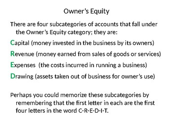 Accounting Rules of Debit and Credit