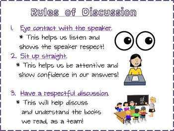 Rules of Discussion