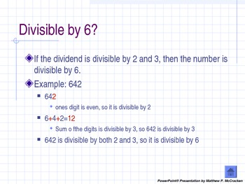 Rules of Divisibility PowerPoint Presentation