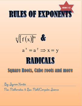 SIMPLIFYING EXPRESSION BY USING RULES OF EXPONENTS