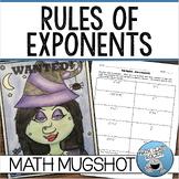 """RULES OF EXPONENTS - """"MATH MUGSHOT"""""""