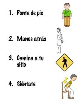 Classroom Management: Rules of Four Transitions (en Español)