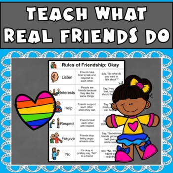 Rules of Friendship: Tool to Define Relationships (Autism, Aspergers, ED)