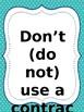 Rules of Grammar Wall Printables 8x10