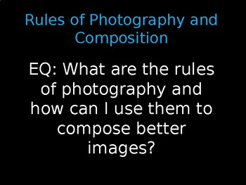 Rules of Photography and Composition - PPT