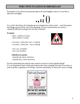 Rules of Punctuation