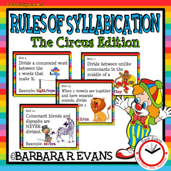 RULES OF SYLLABICATION: The Circus Edition