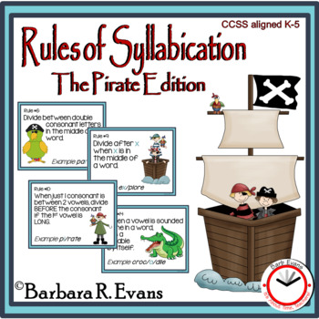 RULES OF SYLLABICATION: The Pirate Edition