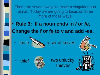 Rules of Usage - Plural Nouns Part 2