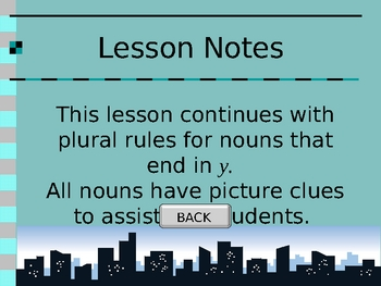 Rules of Usage - Plural Nouns Part 3