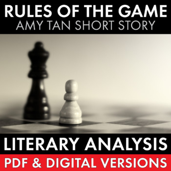 Rules of the Game, two-day plan, Amy Tan's short story from Joy Luck Club